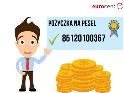 Pożyczka na PESEL - najważniejsze informacje