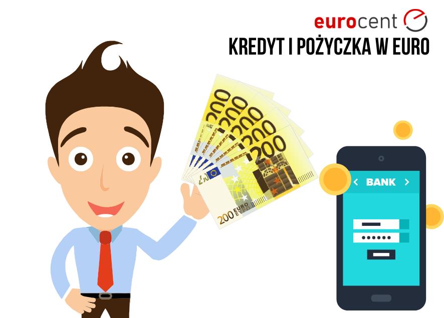 Kredyt czy pożyczka w euro? Rozwiązania dla zarabiających w obcej walucie.
