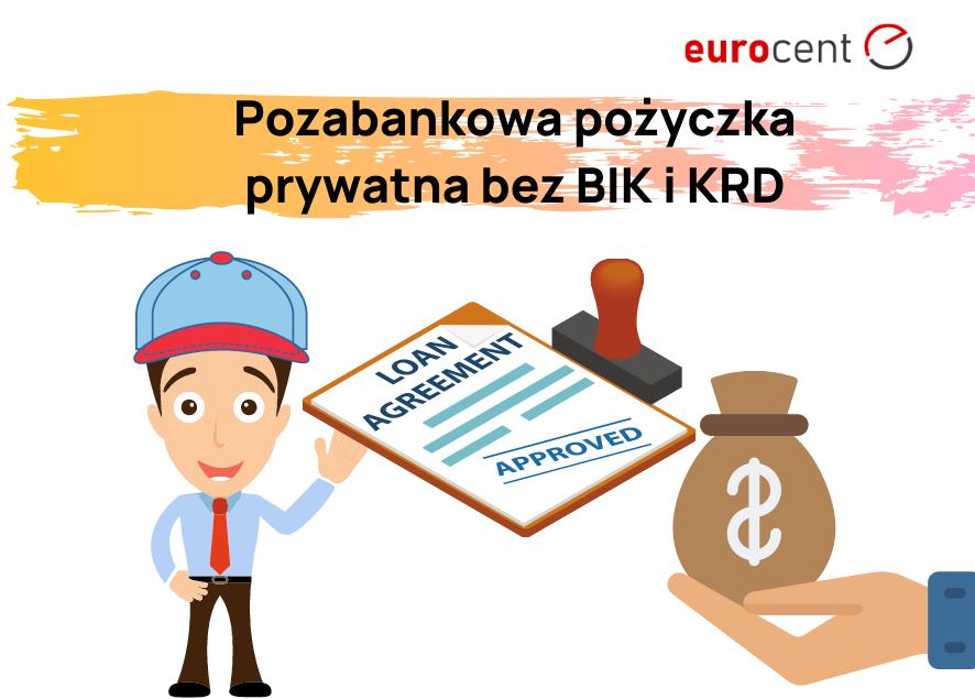 Na jakich warunkach udzielana jest pozabankowa pożyczka prywatna bez BIK i KRD?