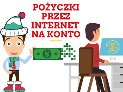 Komu może zostać przyznana pożyczka przez internet na konto?