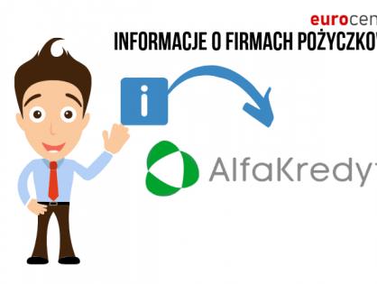 Alfa Kredyt - informacje na temat pożyczkodawcy