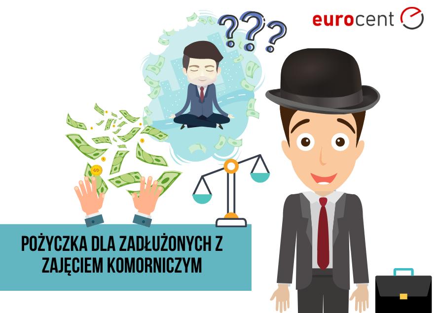 Na czym polega pożyczka dla zadłużonych z zajęciem komorniczym?
